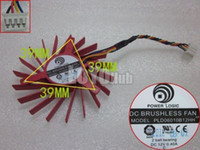 ball ati - For ATI HD4850 HD4830 graphics card fan Power Logic PLD06010B12HH V Pin Ball