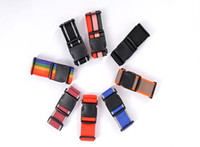 Wholesale 100pcs casual men women travel supplies necessary travel luggage belt pull rod box bind belt cm