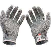 Wholesale Cut Resistant Gloves Kitchen Gloves with Food Grade Level Hand Protection Light weight Work Gloves Safety Gloves