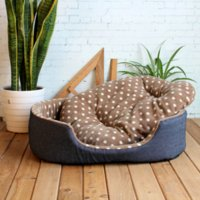 Wholesale Dog Bed Kennel Mat Soft Pet Dog Puppy Warm Bed House Plush Cozy Nest Dog House Pad Warm Pet House b312