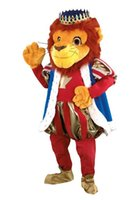 Wholesale Lion King mascot costume Plush Cartoon Character Costume mascot Custom Products customized Halloween REAL PICTURE