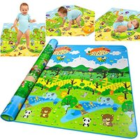 Wholesale Thickness Baby Crawling Mat Baby Crawling Pad Game Mat Forest Pattern