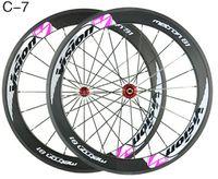 bicycle rear wheel bearings - by EMS mm full carbon bike wheels k clincher s VISION bicycle carbon wheels novatec hubs or ceramic bearing hubs