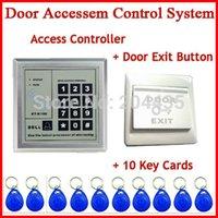 access tabs - Access Control System RFID Keytab Proximity Door Lock YOA Brand New RFID key tab card Door exit push button switch