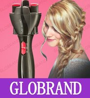 Wholesale GLXY32 Electric Braiders Automatic Braide maker AA battery hair salon DIY machine tool Hair Twists Styling Tools