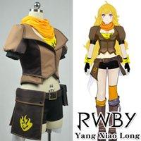 Wholesale RWBY Yellow Yang Xiao Long Cosplay Costume