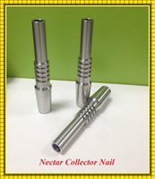 Wholesale 10cps Titanium Nectar Collector Tip Titanium Nail mm mm mm Inverted Nail Grade Titanium Tip Ti nail For Glass Nectar Collector Kit