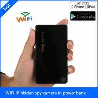 Wholesale HD P P WIFI IP Spy Power bank Hidden H WiFi Mah Battery External Power Bank Spy Camera motion detection
