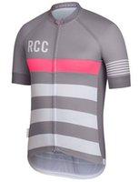 Wholesale Top quality rcc gray color assos Sports Shirts rapha fabric team fit cut short sleeve racing gear Road Bike Clothing Polo T Shirt XXS XL