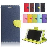 Cheap Mercury Wallet Flip Leather Case Cover for iPhone 6 6S Plus 4.7 5.5 SE 5S 5 Samsung Galaxy Note 5 S6 Edge Plus S7 Edge Mobile Phone Cases