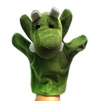 Wholesale plush hand puppet crocodile big crocodile hand puppet large animal