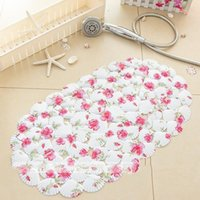 baby massage bath - High quality non slip mat for bathroom sucker pvc Massage With sucker shower mats for child baby bath pad bathmat