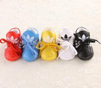 Wholesale PU lacing casual indoor soft bottom baby toddler shoes Spring sports newborn child stumble boys girls walking shoes pairs