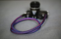 best slr flash - BEST purple Climbing rope mm handmade Camera neck strap DSLR SLR universal
