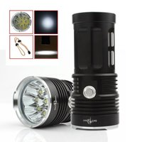 Wholesale Waterproof LM Black x XML T6 LED Mode SKYRAY Outdoor Flash Lamp Torch for Hunting Camping LEF_039
