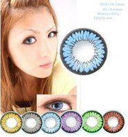 big brown eyes - Spring Color Series Big Eye Contacts Colorful Contact Lenses Cosmetic Colored Eyes Colors Red Wine Green Brown Gray Blue Purple