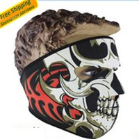 Wholesale Winter Airhole Skull Facemask for ski masks prevent wind Motorcycle Bicycle Scarf snowboard face mask keep you warm skiing