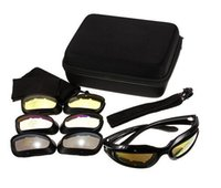 Wholesale Military Tactical Goggles Motorcycle Riding Glasses Sunglasses