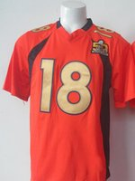 army shirts for sale - Orange Peyton Manning Football Jerseys Cheap Super Bowl th Football Shirts New Season Football Wear for Men Hot Sale Playoffs Jerseys