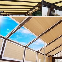 Wholesale Skylight Window Blinds blackout light filter fabric customized
