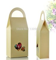 apparel handbags - Size cm DIY paper chocolate packaging boxes with handle handbag shape gift paper packing box