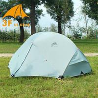 Wholesale 3F UL GEAR Outdoor Ultralight Camping Tent D Nylon Season Person Waterproof Winterized Tents Camping Fishing Hunting Tenda