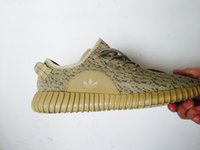 Cheap High Quality Yeezy Boost 350 Oxford Tan Moon rock Dove Grey Yeezy Athletic Shoes Kanye Shoes drop shipping Yeezy With Box 11.5