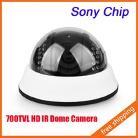 ccd dome camera - IR HD Dome Camera Night Vision quot SONY CCD CCTV Security Camera TVL Indoor
