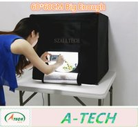 Wholesale LED portable man carried folding photostudio w v v cm