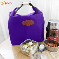 Wholesale 100pcs Waterproof Box Container Cooler Thermal Tote Outdoor Picnic Insulated Lunch Bag