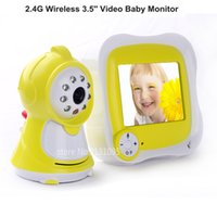 Wholesale New LCD Wireless Night Vision Video Camera Baby Monitor Security Cameras Receiver with High definition Digital Baby Camera