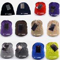 Prezzi Wool hat-2016 Marca P *** Logo misto lana Berretti da baseball Beanie Caps Squadra sportiva cappelli di moda a maglia Berretti Skulls Beanie accetta il trasporto di goccia