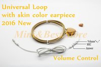 Wholesale Good quality wire inductive neck loop mini earpiece necklace micro earpiece a680