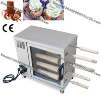 baker oven - Commercial Hungarian Pin Chimney Cakes Ice Cream Cupcake Maker Baker Machine Oven Grill with Roller
