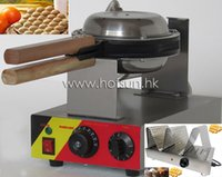 Wholesale 2 in Commercial Use Non stick v v Electric Egg Bubble Waffle Maker Baker Machine Warmer Displayer