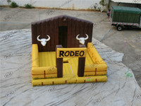 amusement rides for sale - High Back inflatable Bull Bed inflatable rodeo bull Outdoor carnival amusement rides mechanical bull rodeo for sales