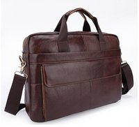 Wholesale 2016 new Men Bag genuine leather handbag Computer package bags Casual man bags men s messenger bag laptop business Briefcase tote