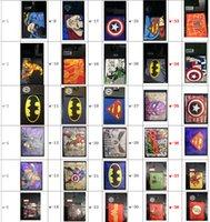 Wholesale MARVEL Superhero Wallet The Avengers Styles Cartoon Figure Wallets Purse PU Leather Wallet Students Kid Wallet The Flash Iron Man Wallet