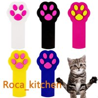 Wholesale Paw Style LED Light Pointer for Cat Catch the Interactive Exercise Chaser Toy Pet Scratching Training Tool
