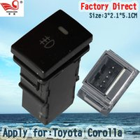 Toyota Corolla auto lamps toyota corolla - Factory Direct Hot Selling Auto Fog Lamp Switch for Toyota Corolla pins