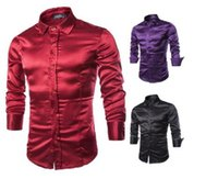 Cheap 5xl mens classic Silk sequined leisure men shirts luxury Men's long-sleeved shirt 2016 brand mens casual shirts high quality Men's t shirts