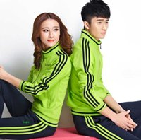 age coats - Sportswear for men and women age season hit new long sleeved pants suit sportswear cotton coat M xl sales