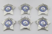 art safe - 2016 New Arrival DETECTIVE Badge The United States of Chicago PD SERGEANT Badge Styles High Quality Metal Badge Retail Free Ship
