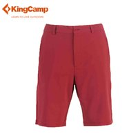 Wholesale KingCamp Outdoor Comfort Breathable Leisure Trousers Men s Perfect Short D3 Classic Fit Flat Front Quick drying short pants
