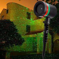 Wholesale Outdoor Lawn Light Sky Star Laser Spotlight Light Shower Landscape Park Garden Lights Christmas Garden Party Star Shower laser light