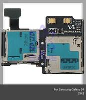 Wholesale 100 Original For Samsung Galaxy S4 i337 i545 i9505 i9500 SIM Card Holder Flex Cable By DHL