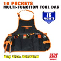 Wholesale SEDY POCKET Pouch Electrician tool bag Multifunction Carpenter Contractor Construction tool belt bag