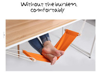 adjustable foot rest - Creative Portable Adjustable Mini Office Foot Rest Stand Comfortable Orange Ajustable Desk Foot Hammock Office Furniture