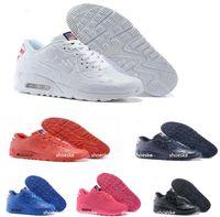 air max vt cheap - Fashion cheap men air leather USA flag maxes vt running shoes maxes america flag outdoor shoes for men athletic sports shoes