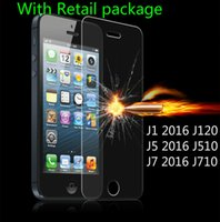Wholesale 0 mm High Clear Explosion proof Tempered Glass Film for Samsung Glaxy J1 J120 J5 J510 J7 J710 Front LCD Screen Protector